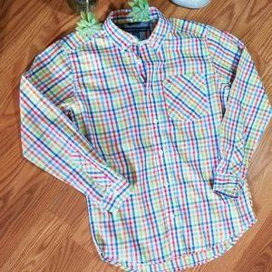 Boys Tommy Hilfiger dress shirt m 12/14